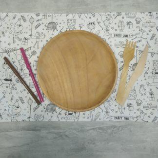 set de table à colorier lavable